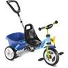 Puky CAT 1 S Trehjuling Barn grön/blå